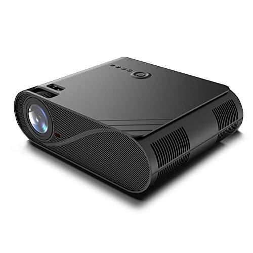 NZHK Projektor 1080P, HD-Videoprojektor 5800 Lux LED Film-Projektor Mit 300