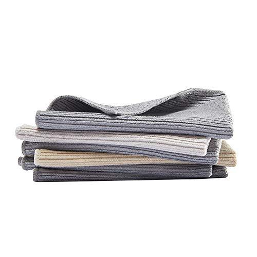 WHK 3 Piezas de Estropajo Limpio, toallitas de Aceite antiadherentes Toalla de Mano para el hogar Paños de Limpieza Paño para Platos