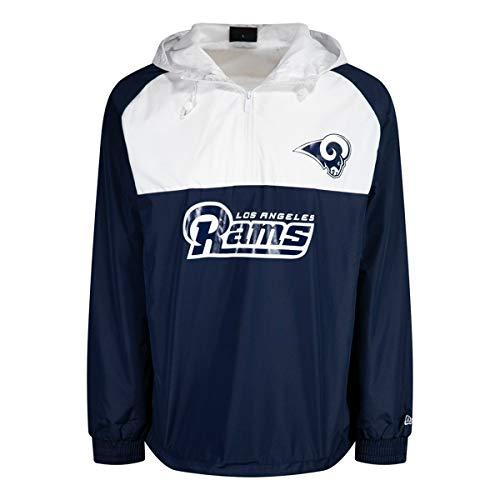 New Era NFL Los Angeles RAMS Chaqueta Cortavientos blueq