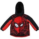 Dreamwave Toddler Boy Spiderman Warm Winter Puffer with Hood Jacket Coat 5T