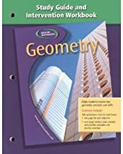 Geometry Study Guide and Intervention Workbook ByHill