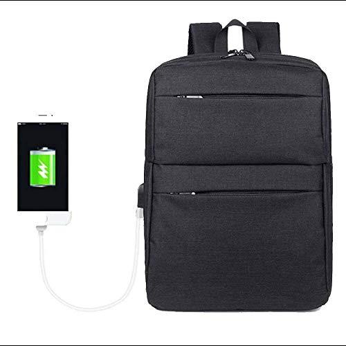 Caijieshuangjb mochila Hombres y mujeres de negocios ordenador recorrido al aire libre de múltiples funciones declamatoria la capacidad de carga del USB cómoda mochila adecuados for las excursiones de