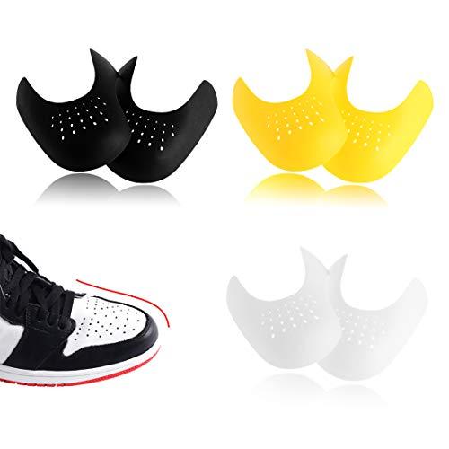 HONGECB Sportschuhe Schuhe Schilde, Anti Falten Schuhe Schutz, Gegen Schuhfalten, Zehe Box Schilde, Verhindern Turnschuhe Schuhe Falte Vertiefung, verhindern Schuhfalten EU 40-46 3 Paar