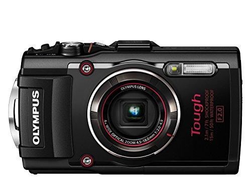 OLYMPUS デジタルカメラ STYLUS TG-4 Tough ブラック 1600万画素CMOS F2.0 15m 防水 100kgf耐荷重 GPS+電子...