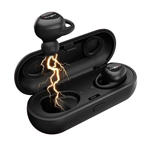LiteXim Auricolari Wireless Auricolari Bluetooth 5.0 Cuffie Auricolari Wireless Bluetooth Senza Fili Sport Auricolari con Microfono in-Ear cancellazione del Rumore Attiva Deep Bass HD 3D Stereo