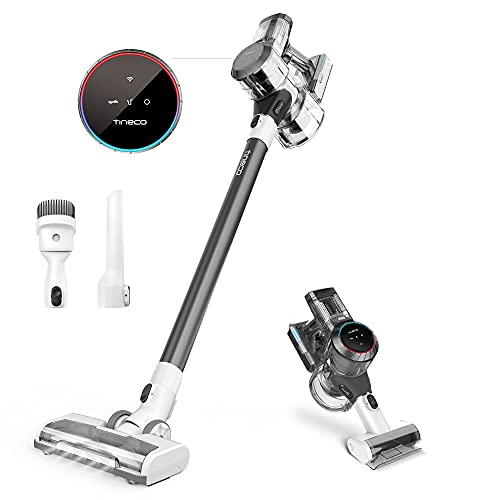 Tineco Pure ONE S11 Cordless Vacuum Cleaner, Smart Stick Handheld Vacuum Strong Suction & Lightweight, Cordless Handheld Vacuum Deep Clean Hair, Hard Floor, Carpet, Car (Pure ONE S11 Grey)