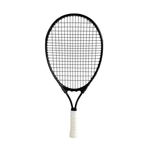 powwow Frozen Black - Racchetta da tennis da 21″ per Compact Court Tennis