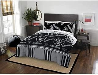 Bed-in-a-Bag Oakland/Las Vegas Raiders Complete Bedding Set Queen
