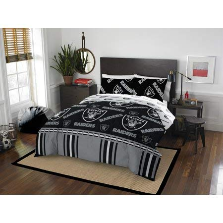 Bed-in-a-Bag Oakland/Las Vegas Raiders Complete Bedding Set Queen