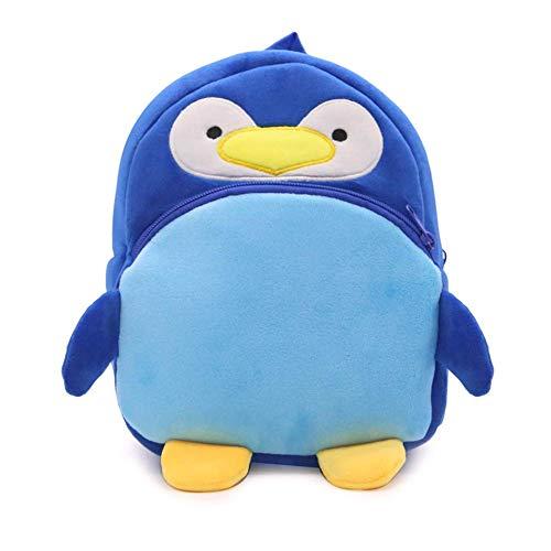 Cute Kids Zaino peluche Animal Cartoon Mini Kids Bag per Baby Girl Boy Età 1-3 anni - 25x22x10cm (3)