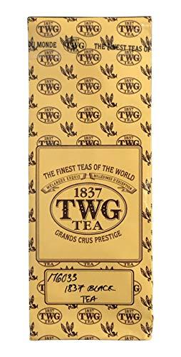 シンガポールの高級紅茶TWG 「1837 Black Tea」 (50g バルクバッグ) - [並行輸入品]