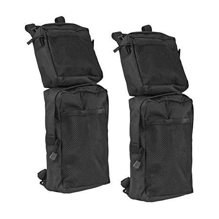 Rear Storage Bags w//Water Holder Compatible with Sportsman Scrambler FourTrax Grizzly kemimoto ATV Fender Bag