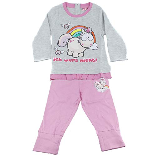 TVM Europe GmbH Baby NICI weicher Pullover und Hose Set für Mädchen Baumwolle Rundhals Kragen (62/68)