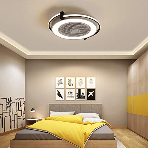 SXYQR woonkamer modern kinderkamer kantoor verlichting deco ventilator licht LED ventilator plafondlamp met afstandsbediening