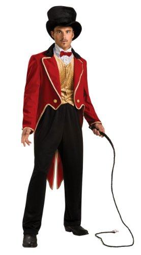 Rubie's Official Men's Deluxe Ringmaster Circus, Adult Costume - Medium/Standard Size