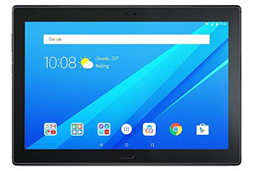 Lenovo TAB4 10 PLUS - Tablet de 10.1' FullHD/IPS (Qualcomm Snapdragon 625 Octa-core, 3GB de RAM, 16GB de memoria interna, Android 7.1.1, Wifi + Bluetooth 4.2) color negro