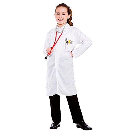 Disfraces Malvados - Bata Párrafo Disfraz Médico Para Niño - 134-146Cm