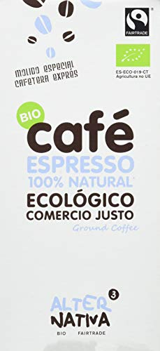 Alternativa 3 - Café Espresso molido Alternativa, 250 gr.