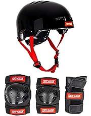 Tony Hawk Set Protecciones Helmet & Padset BK