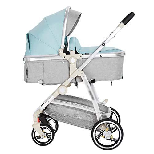 Gute Qualität Kinderwagen Buggys Kinderwagen Kinderwagen können sitzen und Legen Licht Falten Neugeborenen Kinderwagen Travel Friendly High Landscape Baby Standardkinderwagen