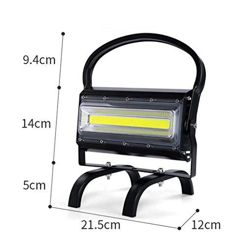 LED Work Light 100W vierkante verlichting Portable Light Light,IP65 waterdichte koplamp licht voor wandelen, auto reparatie, werkplaats, garage Astigmatism