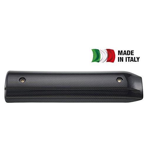 T4TUNE 351051 PROTEZIONE MARMITTA X-MAX 125/250 CARBON