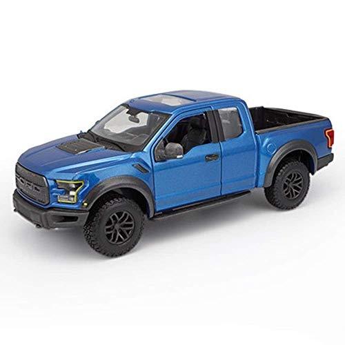 min min Modelo de automóvil 1:24 Diecast Modelo Vehículo/Compatible con Ford Raptor/Modelo de automóvil Modelo de Aleación de Aleación Modelo de Pickup Truck Modelo Todoterreno