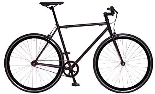 RAY Fixie Negra Bicicleta Urbana Llantas Perfil 40