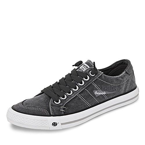 Dockers by Gerli Herren Low-top 30ST027 - Grau (Grau 200) , 43 EU,