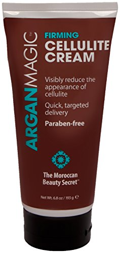 ARGAN MAGIC Firming Cellulite Cream - Formula Enriched with Cinnamon and Caffeine to Reduce Cellulite and Skin Dimples (6.8 Ounce/193 Gram)