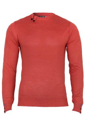 Jack & Jones Pulls Bunga Knit Slim Fit, Taille:S;Couleur:Baked Apple