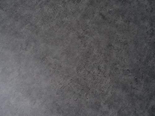 PVC Bodenbelag in grau schattiertem Beton (6,95€/m²), Zuschnitt (4m breit, 1m lang)