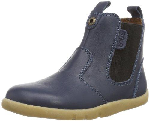 Bobux 460639, Chelsea Boots Garçon Mixte Enfant, Bleu Marine, 21 EU