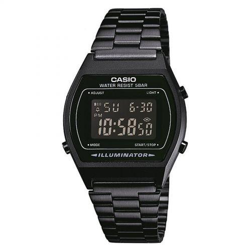 Casio Casio Collection Unisex-Uhr Digital mit Edelstahlarmband - B640WB