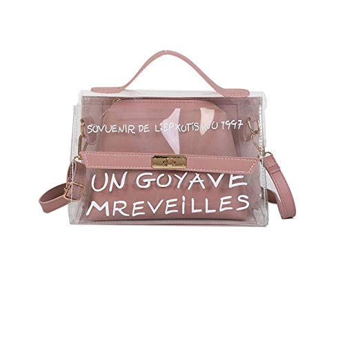 Popular Fashion Transparent PVC Bag Simple Style Shoulder Bag Crossbody Bag Handbag Women Stylish Bags For Party Dating Travel