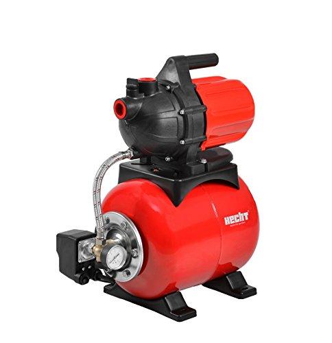 Hecht Hauswasserwerk 3800 Wasser-Pumpe Versorgung im Haushalt (max. Druck 3bar, bis zu 3.200 l/h)