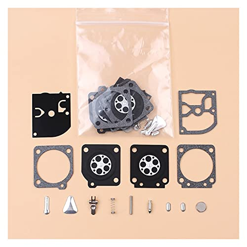 Rendimiento estable 2 Kit de reparación de diafragma de carburador para For STIHL 020 020T MS191 MS192T MS200 MS200T PARA For Husqvarna 113LD 123C 123L 322L 323L For ZAMA C1Q Carber Durable