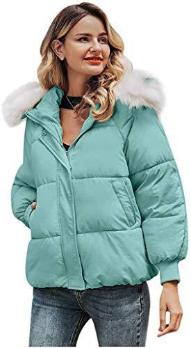 Sunjiaxingzd Abrigo de invierno de piel sintética, color rosa sólido, chaqueta negra de lana de felpa de gran tamaño con bolsillos para mujer (color: amarillo, talla: 3XL)