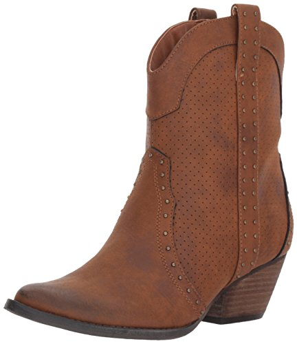 Very Volatile Women's Montez Western Boot, Tan, 7.5 B US