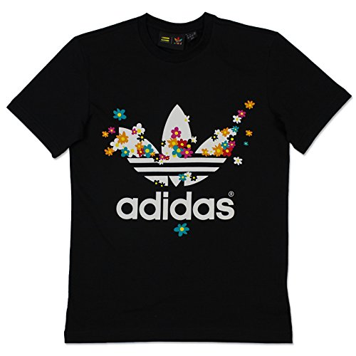 adidas Originals Herren Pharrell Williams Flower T-Shirt