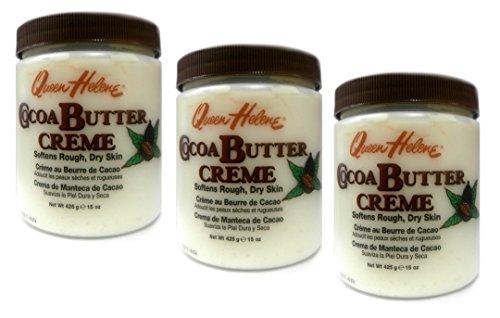 3x Queen Helene Cocoa Butter Creme 425g (insgesamt - 1275g)