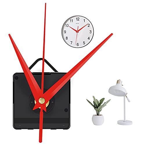Clock Mechanisms Silent Quartz Clock Mechanism Kit Wall Clock Movement Kit...