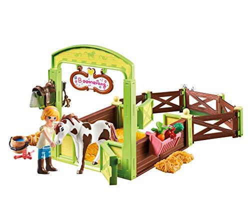 Establo de Boomerang y Abigail Playmobil (9480)