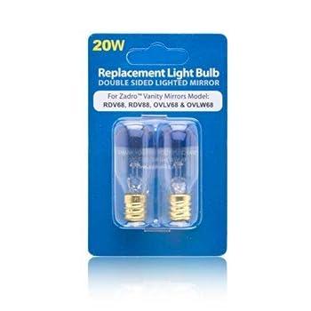 Zadro 20 Watt Replacement Light Bulb for Zadro Vanity Mirrors