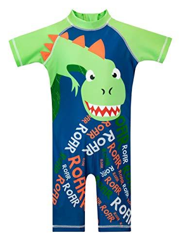 Harry Bear Bañador para Niño Dinosaurio Azul 4-5 Años