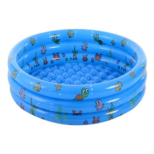 Q.A Piscina Inflable del bebé, Infantil del bebé Piscina Inflable de Seguridad Niños Ronda Piscina de natación a los niños pequeños Verano 100x40cm Suministros
