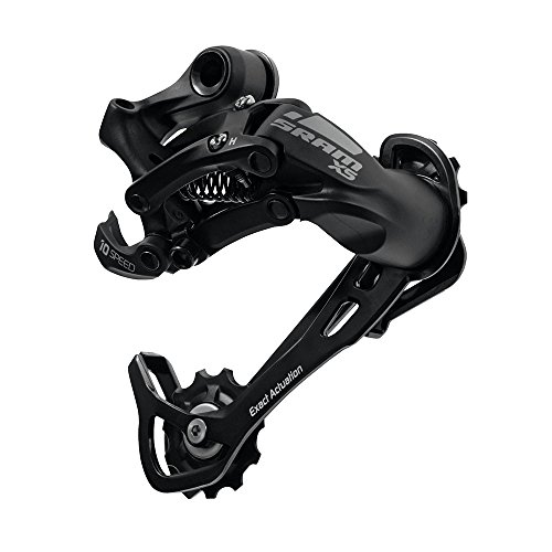 SRAM X5 10 Speed Rear Derailleur (Medium Cage, Black)