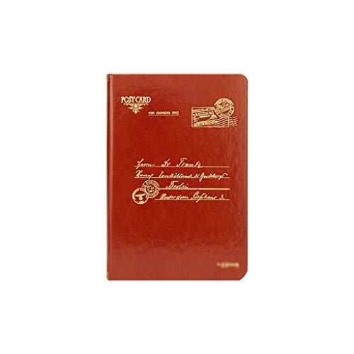 Cuadernos de diario en blanco de papel rayado plan Diario del cuaderno diario de cuero clásico Hardcover A5 escritura punteada Páginas Papel grueso regalo de negocios Hombres Mujeres Paquete de trabaj