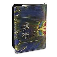 Anthrax - For All Kings パスポートカバー 旅行パスポート パスポートケース パスポートバッグ パスポートホルダー 多機能 航空券 スキミング防止