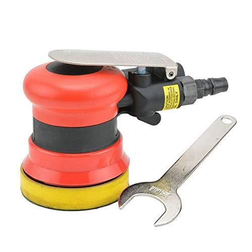 GUOCAO Herramientas Practica portátil 75mm neumáticas Sander, de 3 pulgadas de disco neumático de la máquina pulidora, de mano-Herramientas papel de lija de la máquina industrial de manos Abrasivo